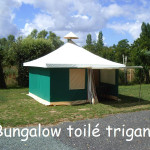 location bungalow toilé