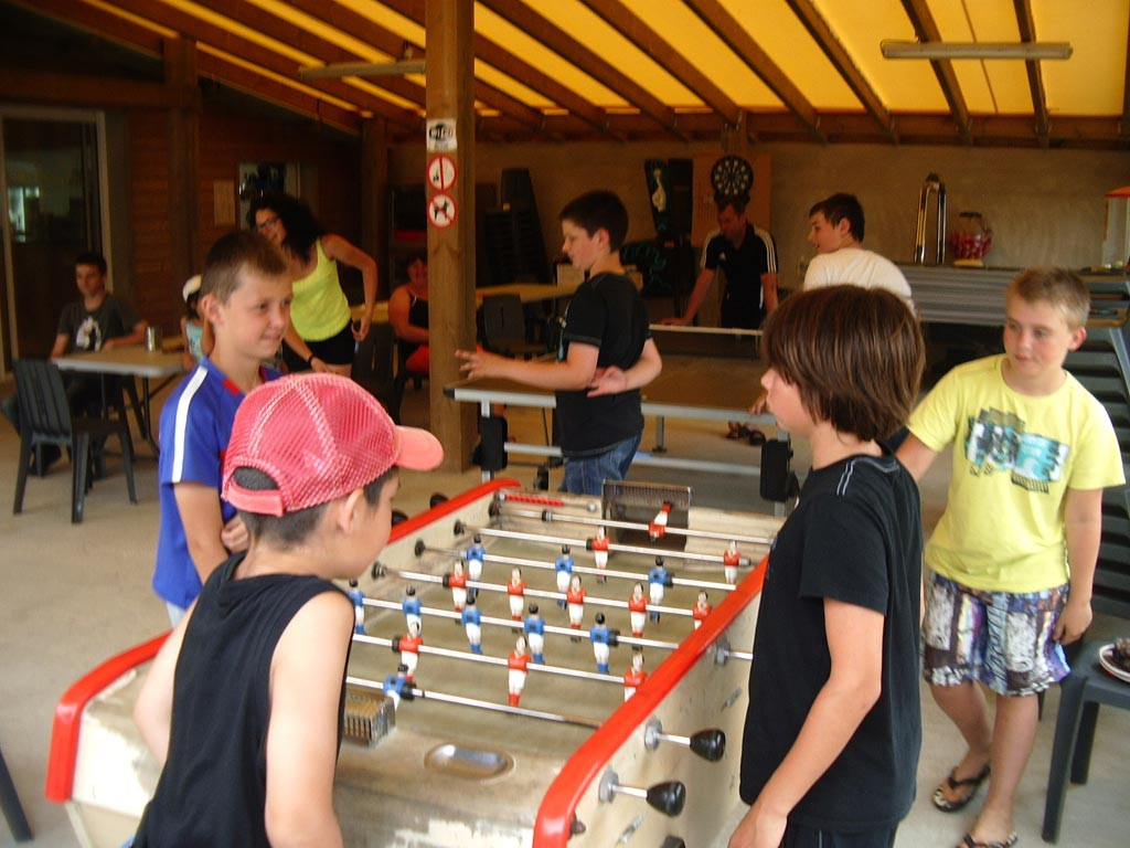 Tournois babyfoot camping