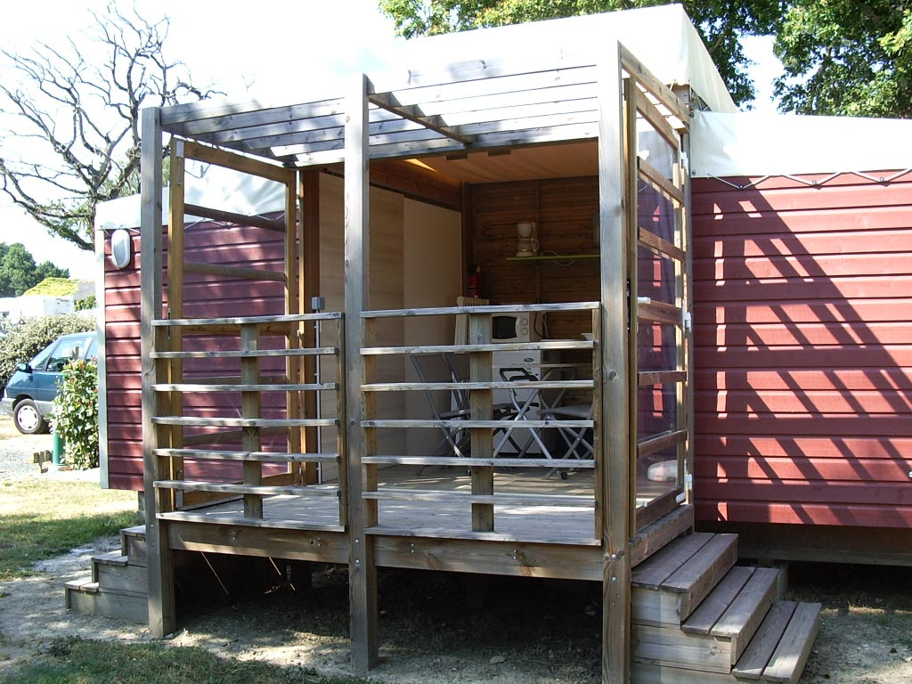 location cabane 2 chambres vendée