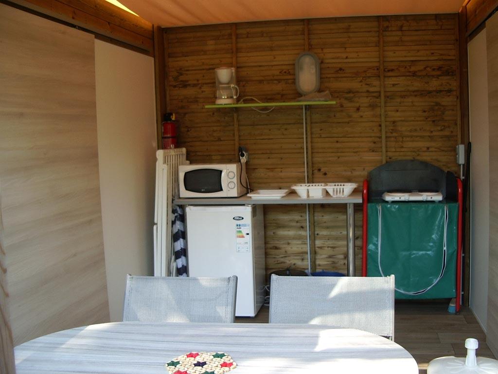 location cabane camping vendée