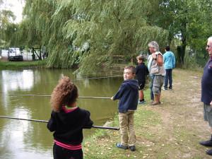 camping avec cours de pêche