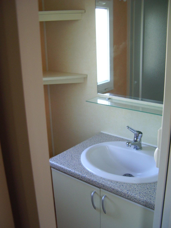 salle de bain location mobilhome vendée