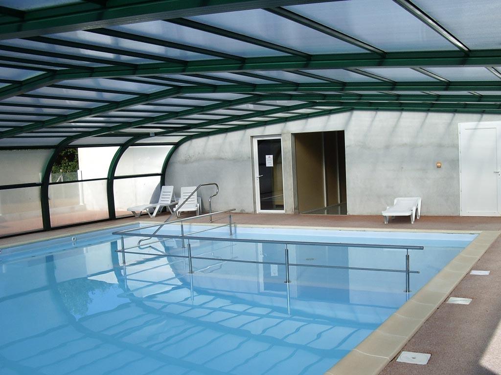 Piscine couverte et chauff e piscine p che et for Camping guerande avec piscine couverte
