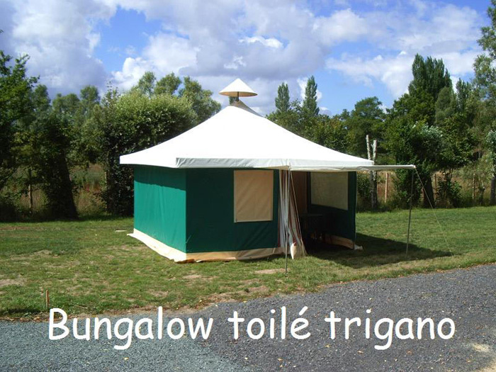 Bungalow toilé