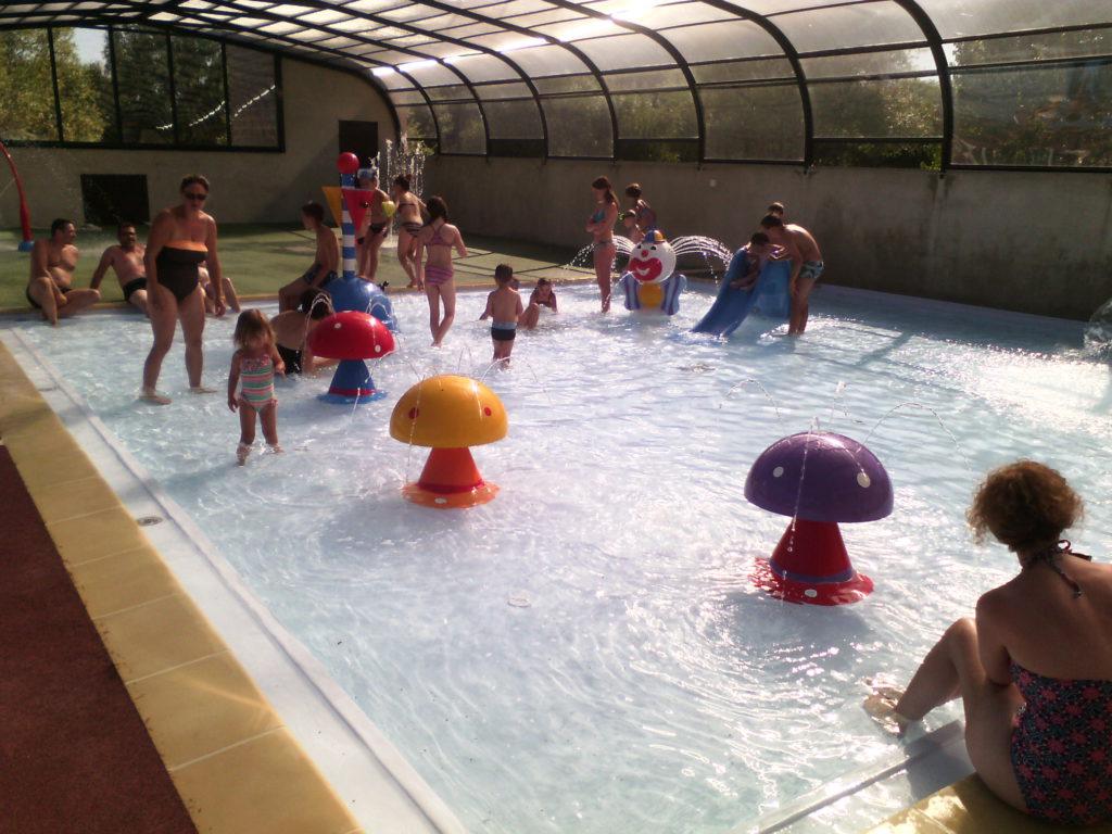 Pataugeoire couverte et chauff e camping peche ouvert Camping ouvert toute l annee avec piscine couverte