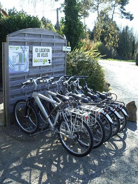 Location vélo au sein du camping familial à Saint Gilles Croix de vie