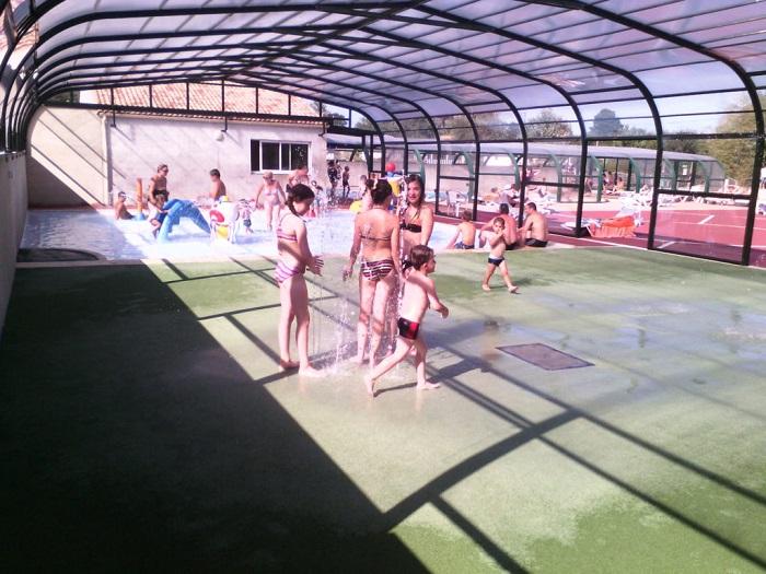 piscine du camping proche de Saint Gilles Croix de Vie