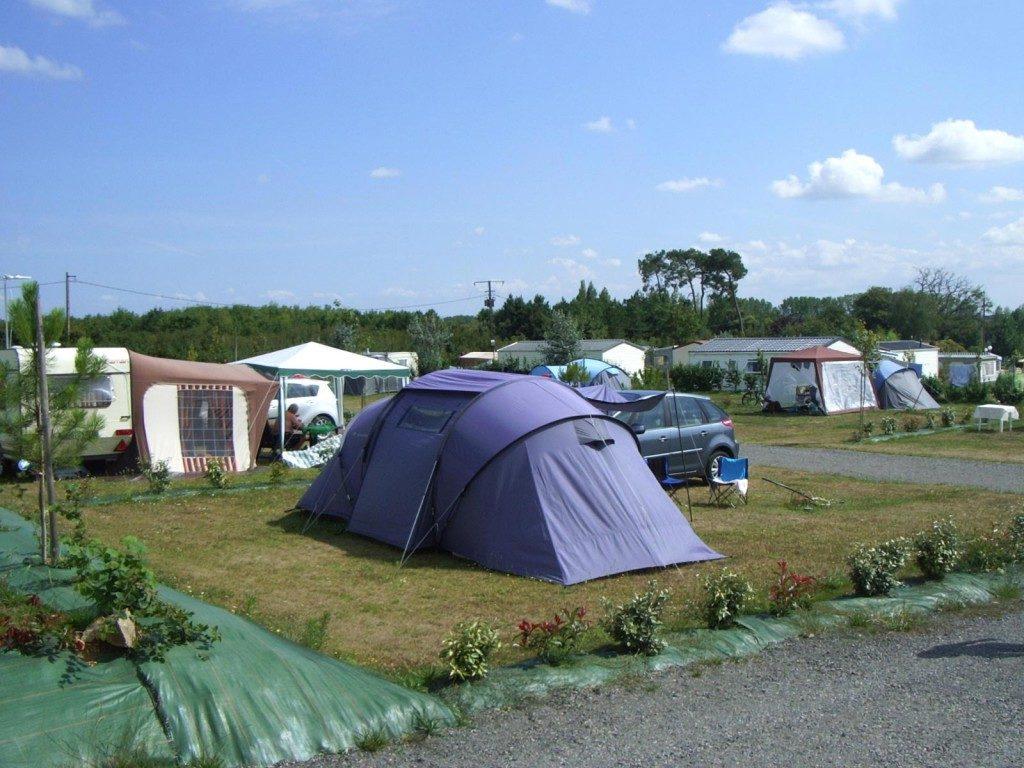emplacement tente au camping en vendée