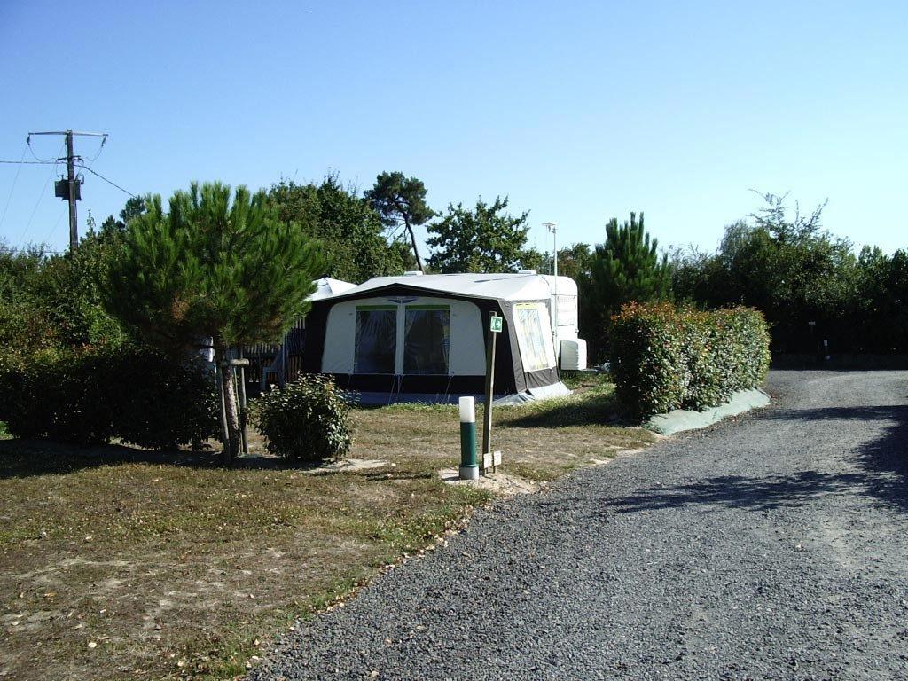 grand emplacement de camping en Vendée