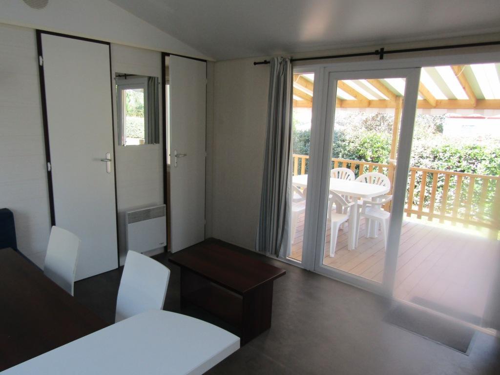 Mobile home 2 chambres à vendre