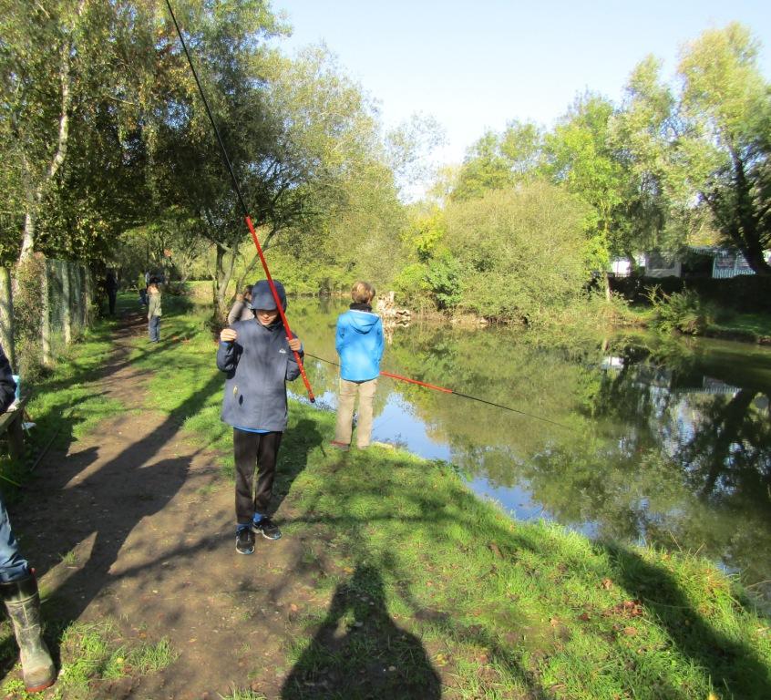 Camping avec initiation pêche