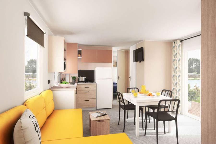 Location mobil home 4 chambres